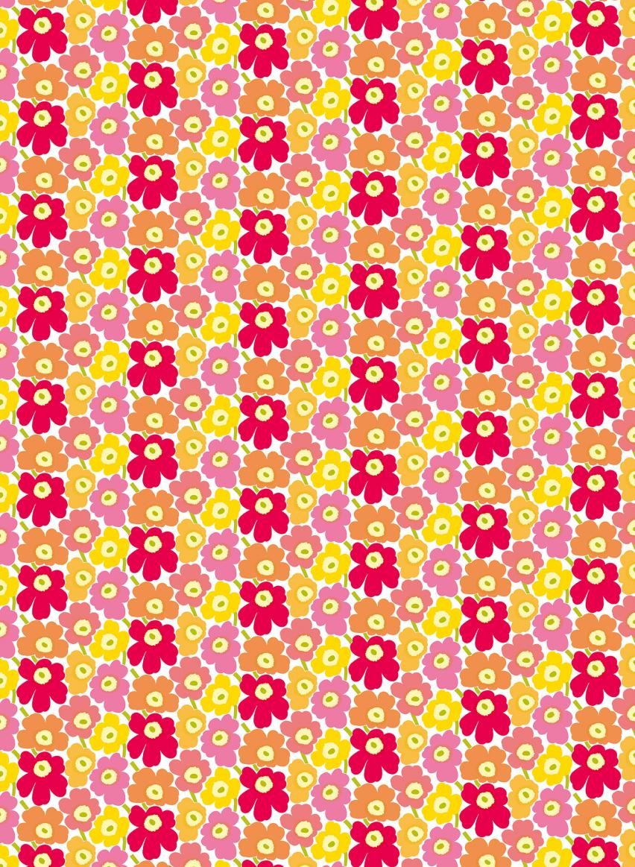 ピンク×オレンジ×イエロー