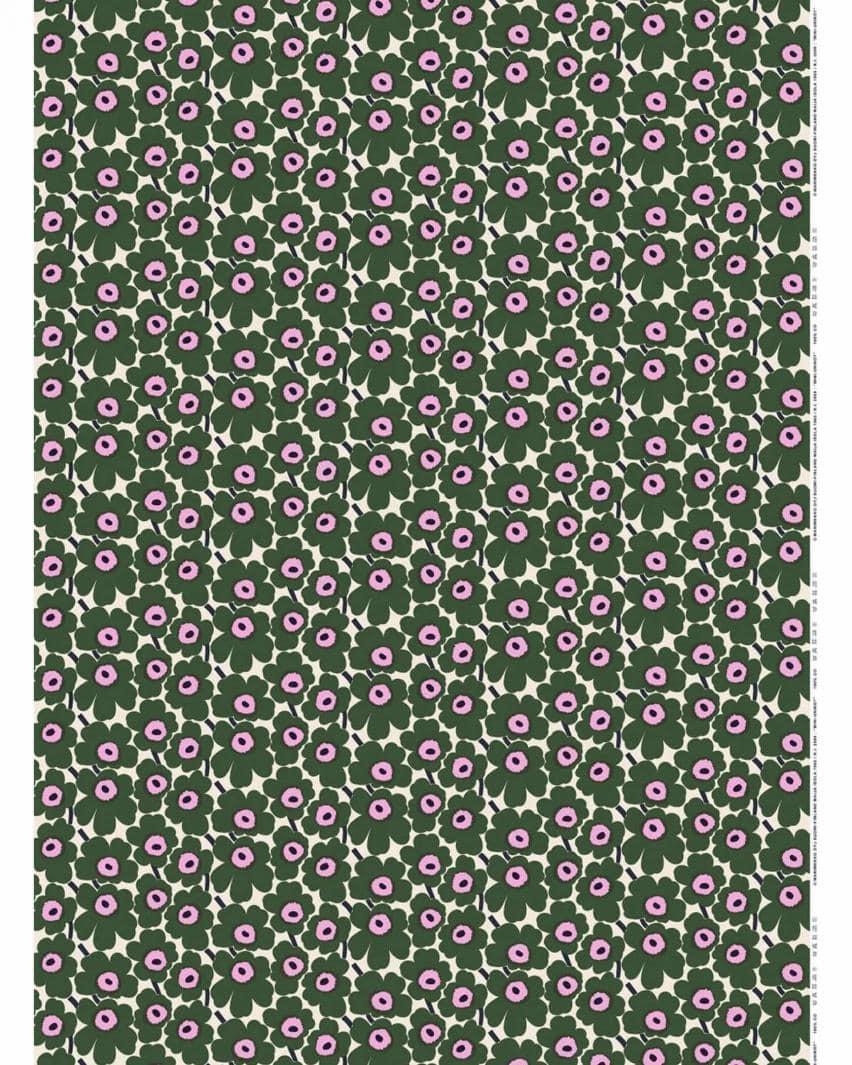 ホワイト×グリーン×ピンク